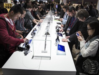 Hi ha despeses, com el Mobile World Congres, que generen ingressos Foto:JOSEP LOSADA / ARXIU