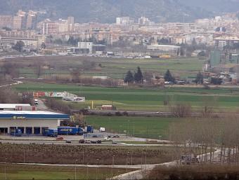 El sector pel qual es farà consulta és el que va des de l'avinguda de la Pau fins a la C-65, i des de Girona fins a l'AP-7 Foto:MANEL LLADÓ