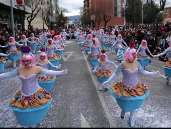 Les cupcakes llaminers de la Casa Cultural d'Andalusia. Foto:MANEL LLADÓ