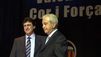 Paco Roig va presidir el València FC Foto:EPA / ARXIU