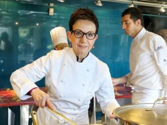 Carme Ruscalleda, propietària del restaurant Sant Pau. Foto: Andreu Puig