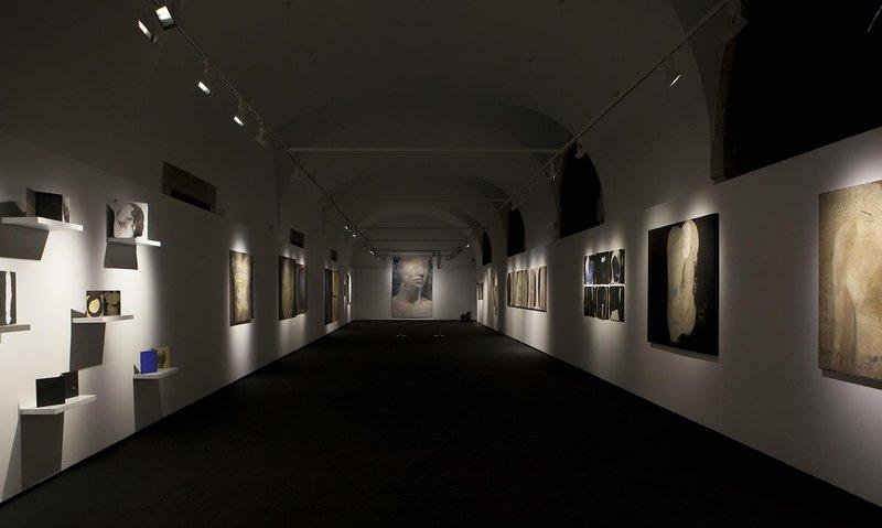 Imatge d'una de les exposicions dels dos darrers projectes guanyadors, en aquest cas la de Jordi Isern.