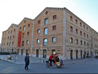L'edifici de Palau de Mar, antiga seu del Departament de Benestar, serà un 'hub' emprenedor.  Foto:J. RAMOS