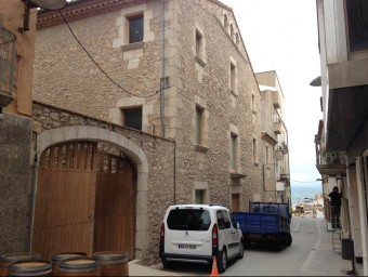 façana d'Alfolí de la Sal, l'equipament cultural que rebrà la major subvenció que destina el PUOSC específic a l'Alt Empordà. Foto:JOAN PUNTÍ