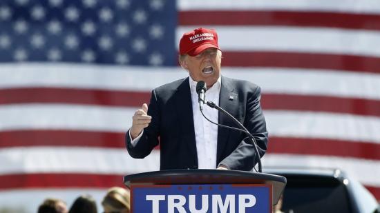 Donald Trump, candidat a representar els republicans a la Casa Blanca Foto:AFP