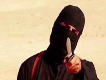 Terrorista protagonista d'algun dels vídeos d'EI.  Foto:ARXIU