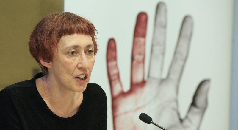 Imatge de Margarida Casacuberta, directora del Mot, que presentarà la primera sessió aquesta tarda a la biblioteca Carles Rahola.