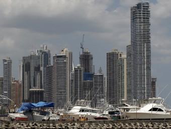 Moltes societats pantalla estan ubicades al barri de negocis de la ciutat de Panamà.  Foto:REUTERS