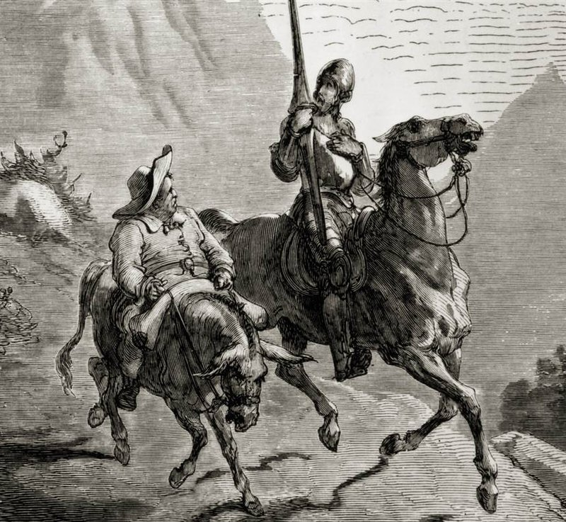 Imatge d'un gravat de Doré.