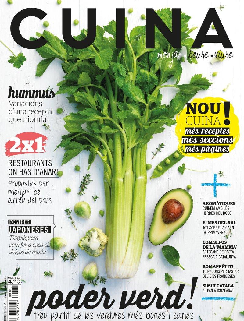 Imatge de la portada del primer número de la nova etapa.