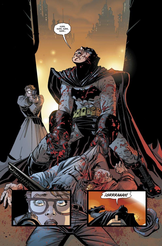 """Imatge de la darrera producció de Miller: """"Caballero oscuro III: La raza superior""""."""
