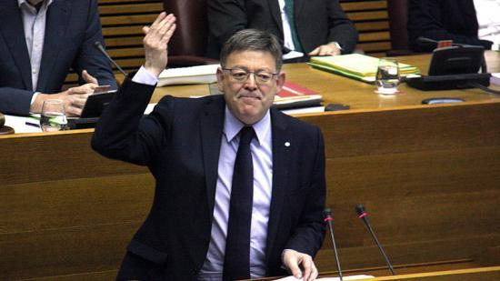 El president de la Generalitat Valenciana, Ximo Puig. Foto:ACN