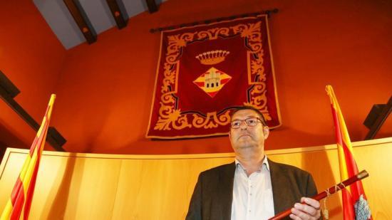Salvi Güell (ERC) va ser elegit ahir alcalde amb el suport de CiU Foto:QUIM PUIG