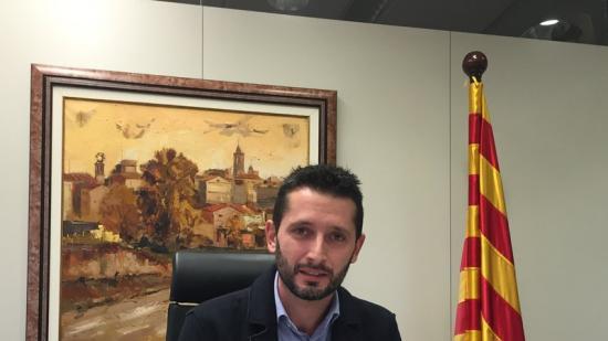 Busquets , alcalde de Sant Martí de Llémena Foto:J.N
