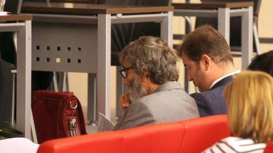 Ferran Soriano, expresident d'Spanair, durant el judici celebrat el 2014 Foto:JUDIT FERNÁNDEZ
