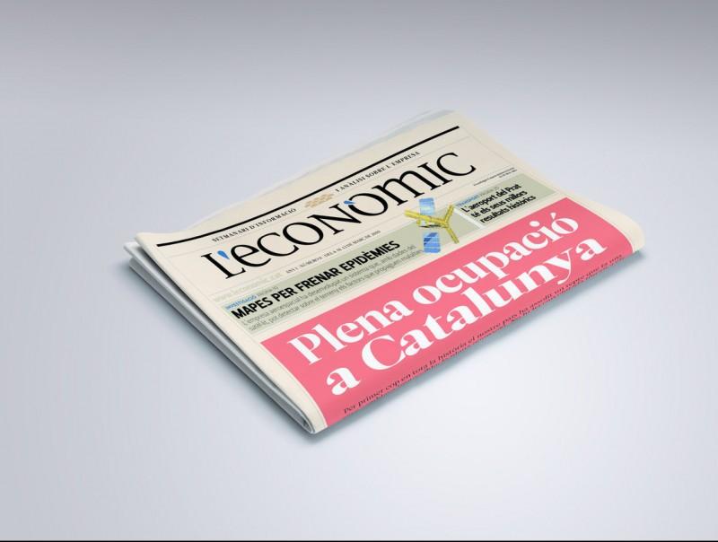 Una portada utòpica de L'Econòmic, que ens agradaria fer.  Foto:L'ECONÒMIC