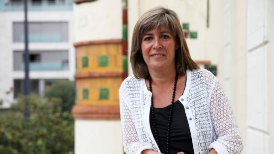 L'alcaldessa de l'Hospitalet, Núria Marin Foto:ELISABEHT MAGRE