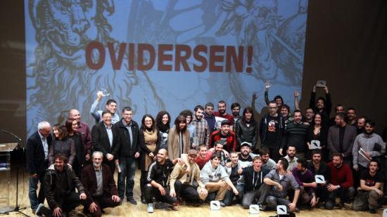 Lliurament dels Premis Ovidi amb assistència del president Puig. Foto:EL PUNT AVUI