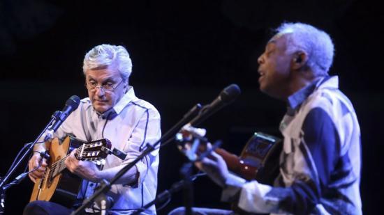 Caetano Veloso i Gilberto Gil van omplir dilluns el Palau dins el Guitar Bcn Foto:QUIM PUIG