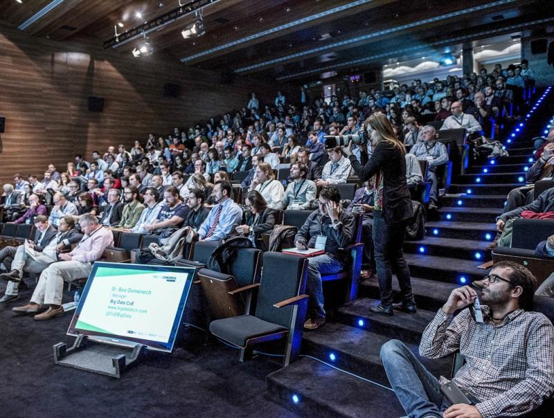 Una trobada sobre big data celebrada a Barcelona el mes de desembre passat.  Foto:ARXIU
