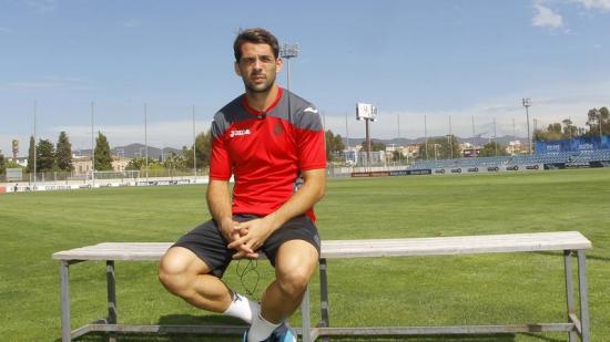 Víctor Sánchez creu que l'Espanyol tindrà les seves opcions de puntuar al Camp Nou. Foto:F. CASALS