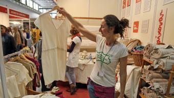 La roba sostenible, fet amb matèria primera ecològica i de forma justa, guanya adeptes Foto:JUANMA RAMOS
