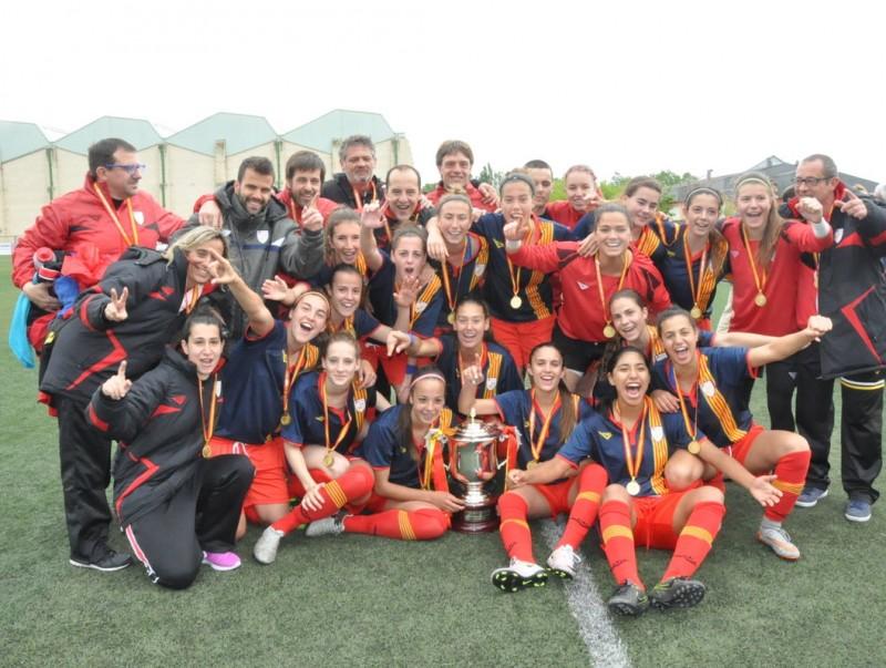 Catalunya, campiona a Mutilva Foto:FCF