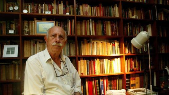 L'historiador Josep Termes, poc després de rebre el Premi d'Honor de les Lletres Catalanes Foto:QUIM PUIG / ARXIU