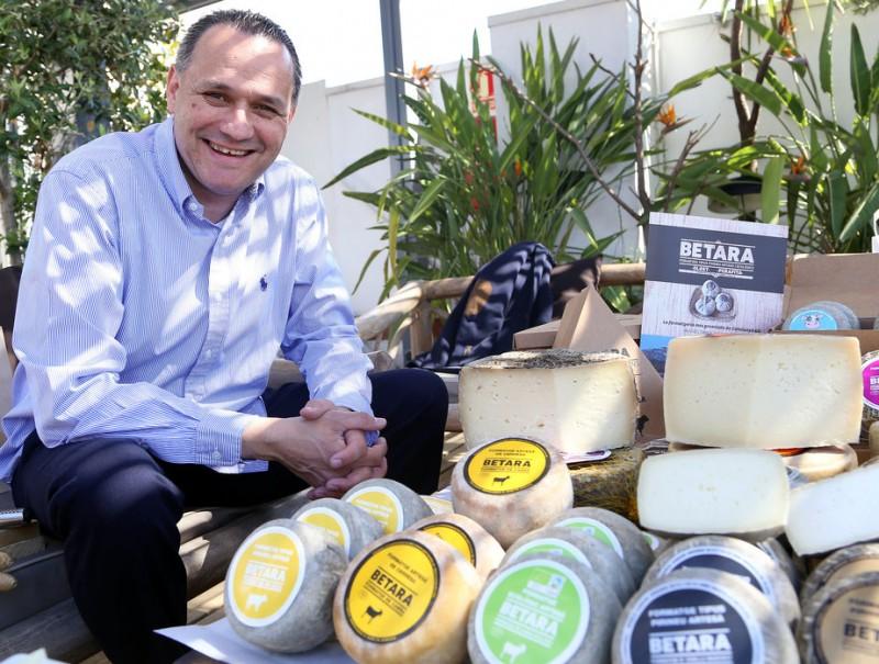 Ramon Berengueras, director general de la formatgeria.  Foto:ANDREU PUIG