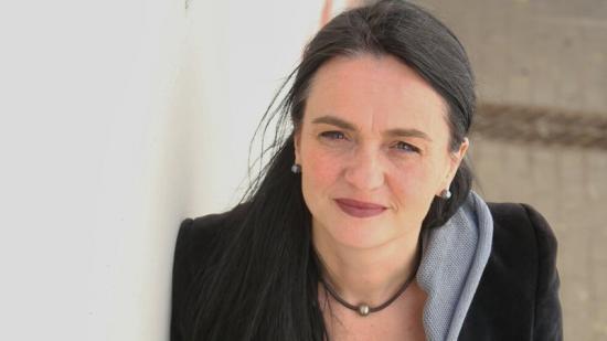 Violeta Quiroga, a la facultat de Geografia i Història de la Universitat de Barcelona Foto:QUIM PUIG