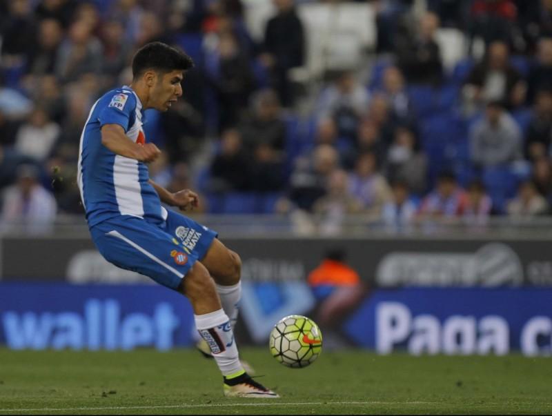 L'Espanyol traballarà de valent aquest estiu per tornar a fer-se amb la cessió de Marco Asensio. Foto:FERRAN CASALS