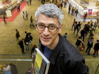 El dibuixant francès Cyril Pedrosa en la passada edició del Saló del Còmic de Barcelona, on va estar convidat Foto:ORIOL DURAN