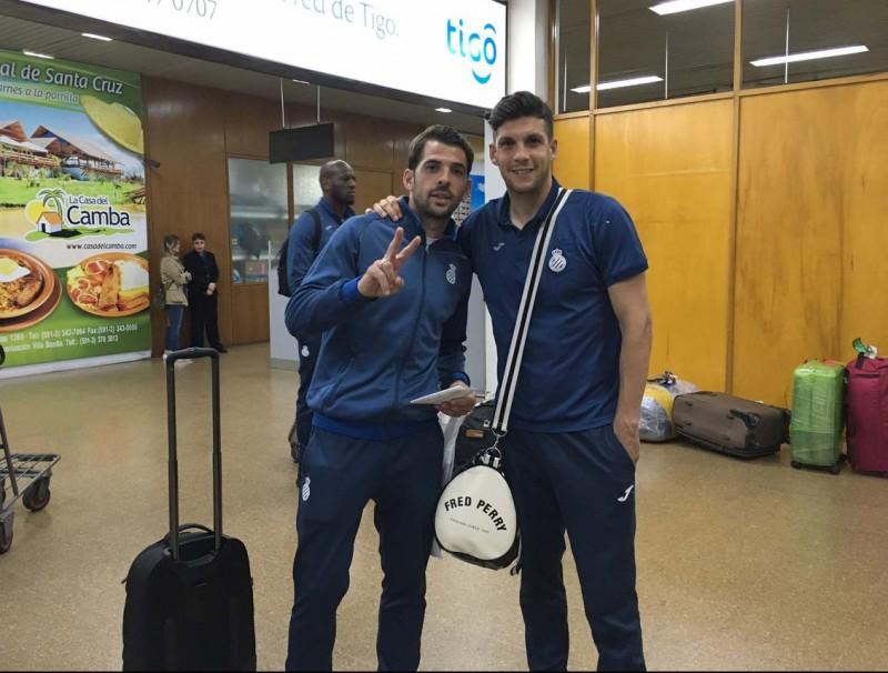 L'Espanyol ja està a Bolívia on disputarà dos partits amistosos de final de temporada. Foto:RCDE