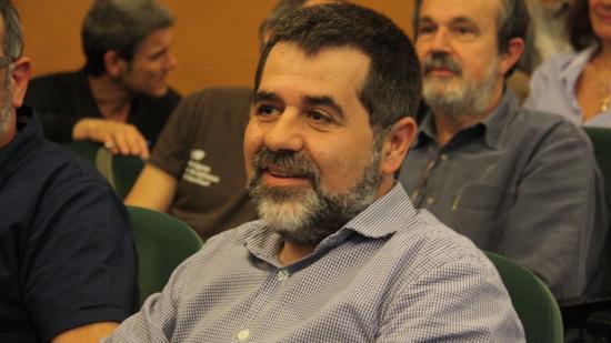 Jordi Sànchez, dissabte a Ripoll. Foto:ACN