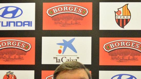 Xavier Llastarri , en una roda de premsa recent Foto:XAVI GUIX / CF REUS DEPORTIU