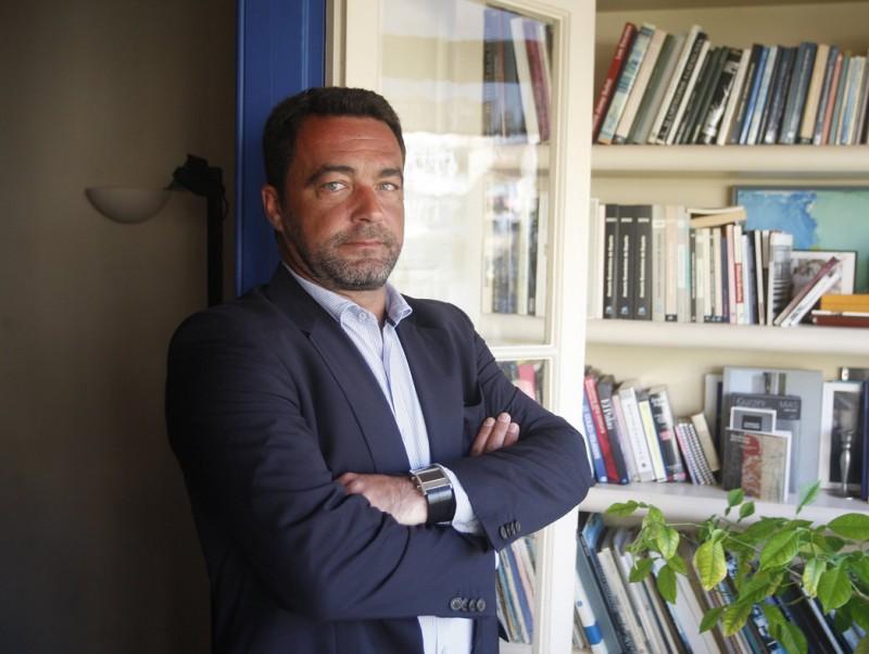 José Miguel Torres, CEO de Cederroth Distrex, a la seu de l'agència ICE, a Barcelona.  Foto:ORIOL DURAN