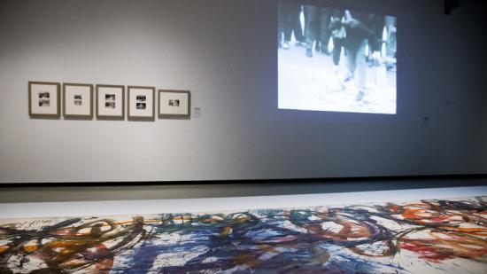 L'exposició que va presentar el MNAC l'estiu passat sobre l'art de la postguerra va deixar a molta gent insatisfeta Foto:A. SALAMÉ