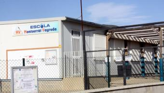 Façana de l'escola Montserrat Vayreda de Roses Foto:ACN