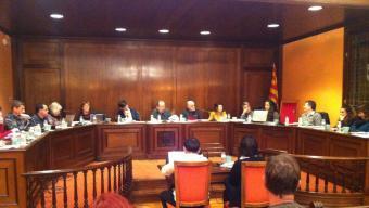 L'equip de govern de la Bisbal està format per un pacte entre ERC, ICV-EUiA i la CUP Foto:JOAN TRILLAS