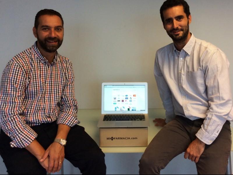 D'esquerra a dreta Enrique Luesma i Antonio Ferrer.  Foto:ARXIU
