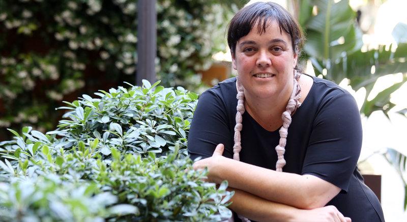 Imatge de Lolita Bosch (Barcelona, 1970) és novel·lista i activista per la pau.