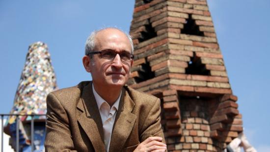 El periodista Andreu Farràs, autor del llibre 'Els Güell', sobre la nissaga d'industrials i mecenes Foto:ACN