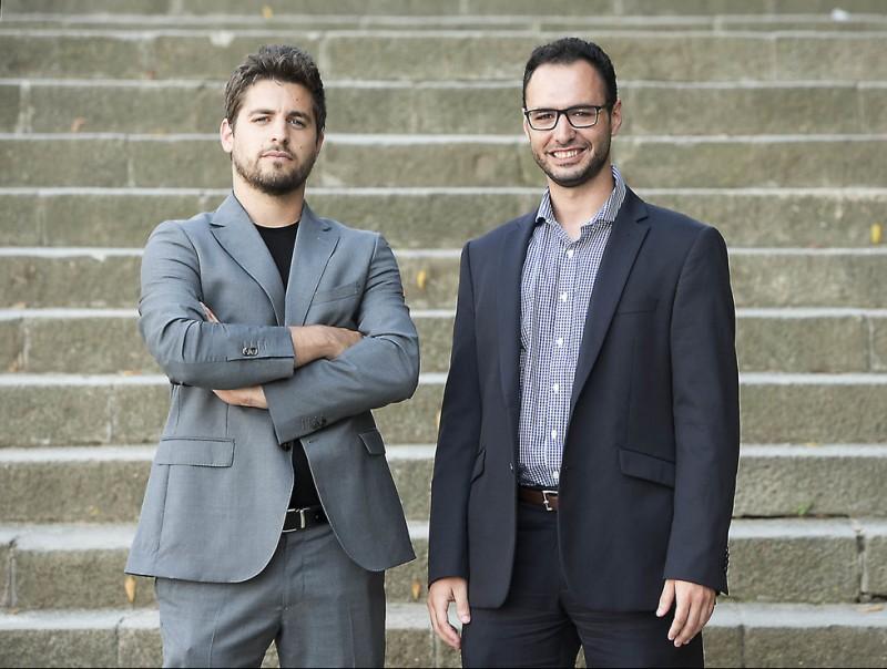 Xavi Silva i Àlex Gomar, codirectors generals d'HEMAV.  Foto:JOSEP LOSADA
