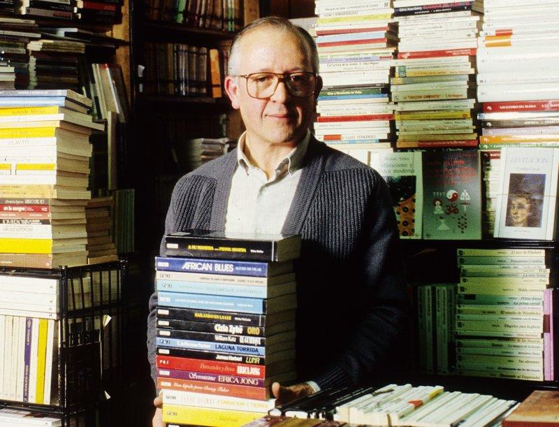 Pere Rodeja i Ponsatí, en una imatge d'arxiu del 1988.