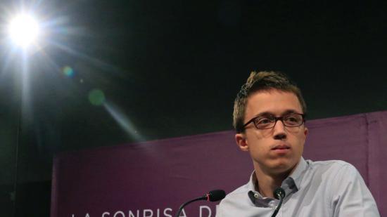Íñigo Errejón, secretari polític de Podem, la nit del 26-J al Teatre Goya de Madrid Foto:EFE