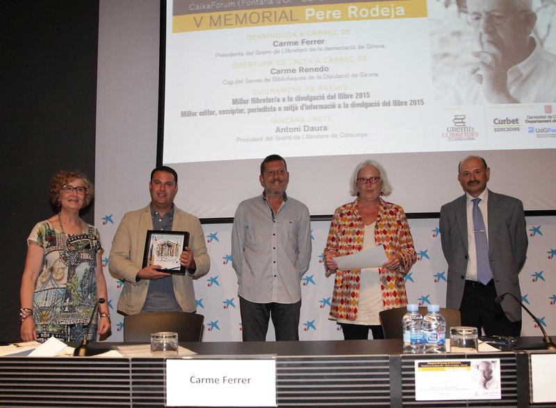 Imatge de Carme Ferrer, Albert Pujol, Pere Rodeja, Núria Dòria i Antoni Daura.