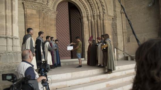 El rodatge del nou porjecte  Foto:'EL LLOC DELS FETS' VA COMENÇAR A FINALS DE JUNY TV3