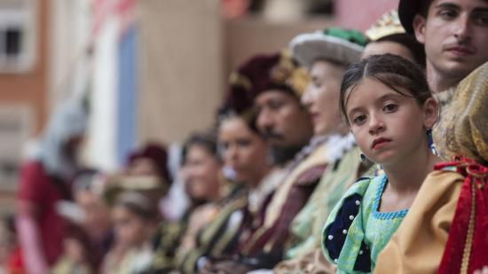 Els veïns de Tortosa es vesteixen d'època per a participar als actes organitzats per la Festa. Foto:J.C.L