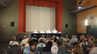 La conferencia va tenir lloc a la Sala Fontova Foto:J.T