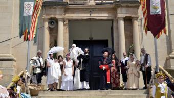 Durant els Firals de Bellvís es recrea la llegenda de l'Anella de Cal Bufalà. Foto:FIRALS DE BELLVIS